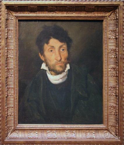 """Portrait of a Kleptomaniac"""" by Gericault, 1822"""