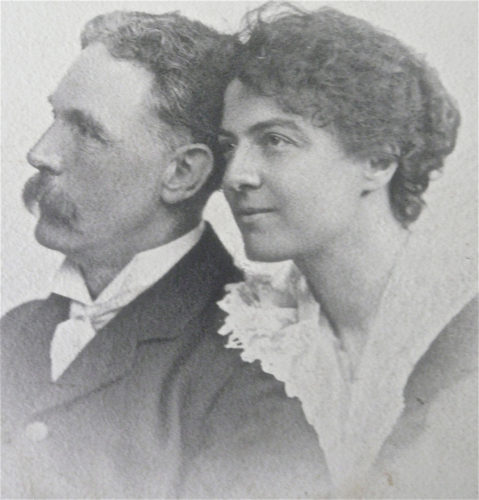 Mr. and Mrs. Rhys Davids, founders of The Pali Society in London