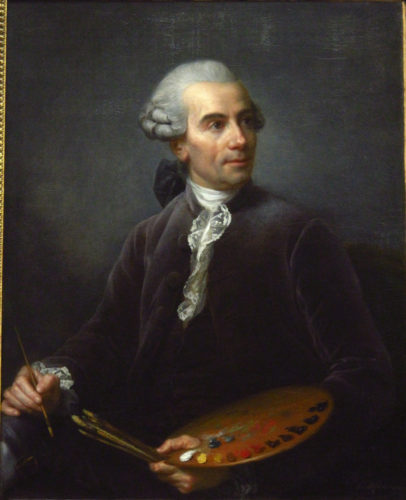 Joseph Vernet, Holmes' Great Great Grandfather by Élisabeth_Vigée-Le_Brun, 1778