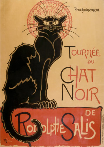 Steinlein's iconic poster for the Chat Noir