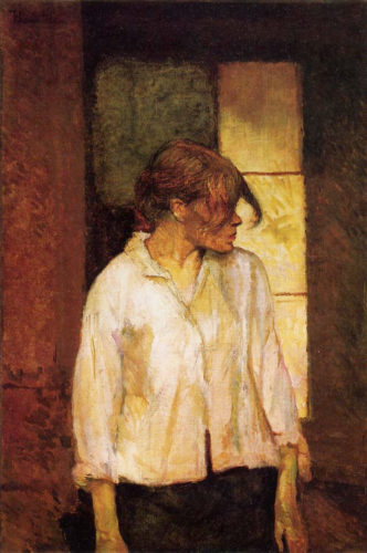 """Rosa the Rouge"" was a frequent subject and possible lover of Lautrec"