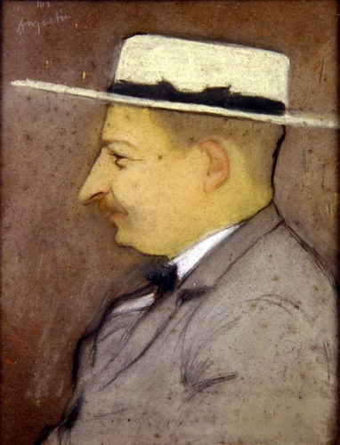 Henri Bourges by Louis Anquetin, c. 1890