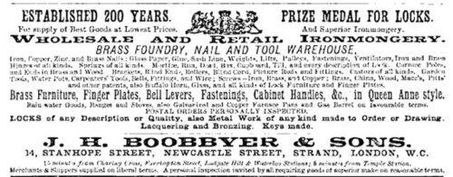Locksmith Boobbyer Ad