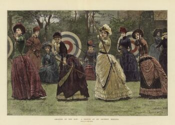 Amazons of the Bow: A Sketch at an Archery Meeting