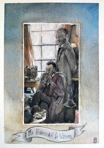 Mr Holmes & Dr Watson - flavia lugliol