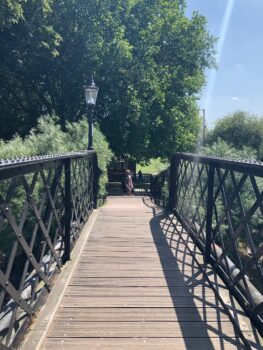 Jesus Lock Footbridge